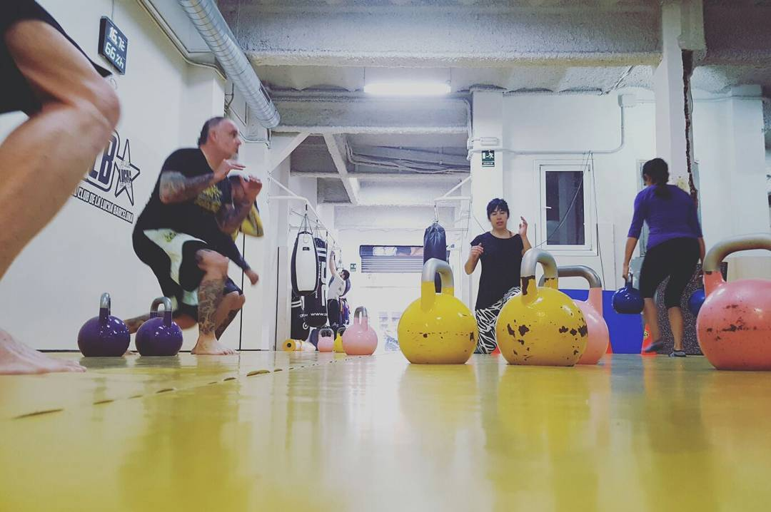 Crossfight and Crossfit Barcelona. The perfect combination for the fighter.