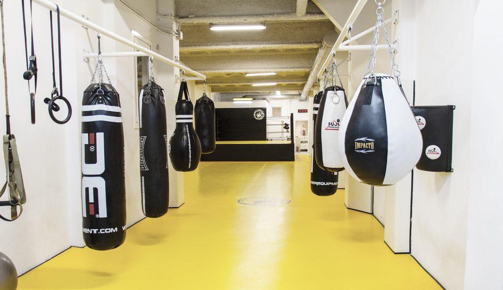 Clases particulares Boxeo Barcelona. Clase individual profesor privado.