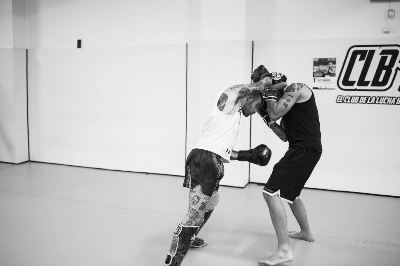 entrenamiento artes marciales