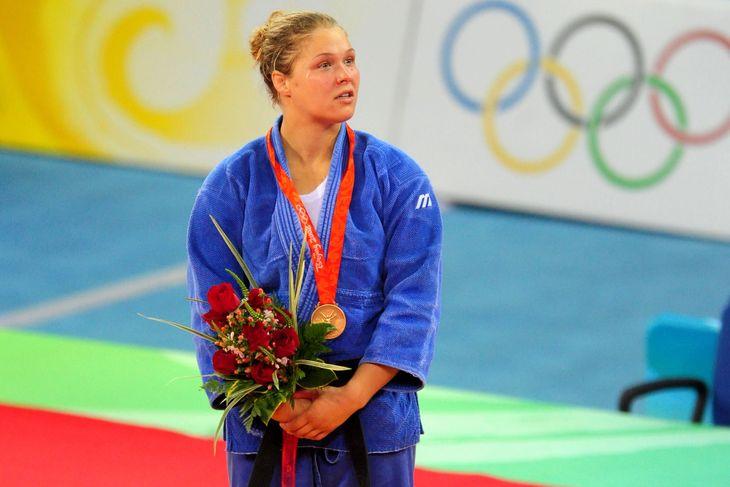 ronda rousey en los juegos olimpicos