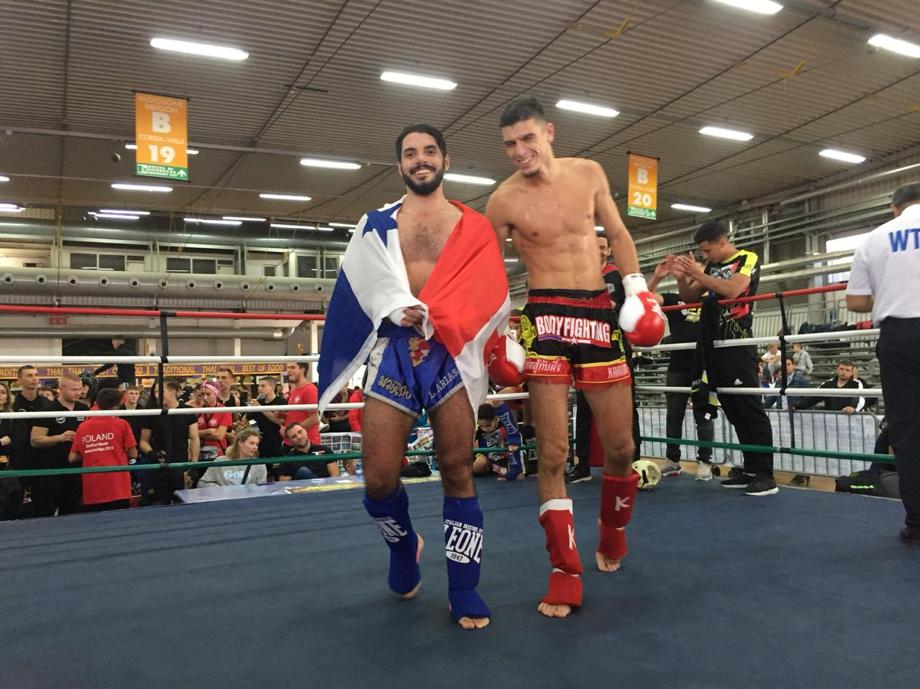 Competición Muay Thai y K1