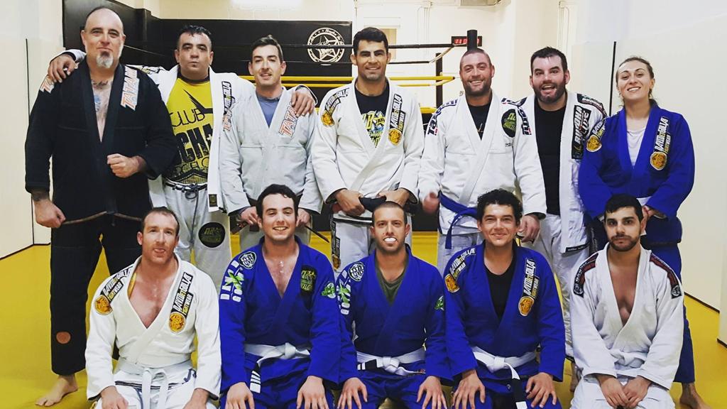 brazilian jiu jitsu practitioners in Barcelona