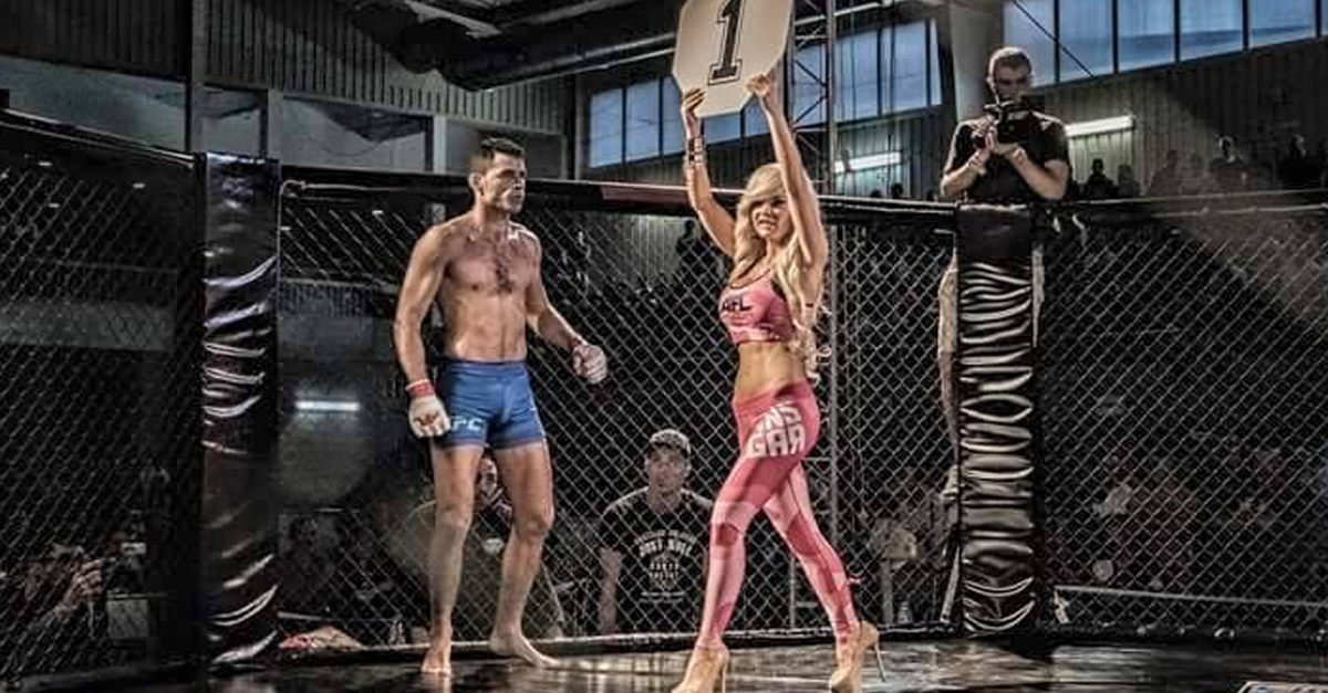 MMA fighter in Barcelona. MMA Barcelona.